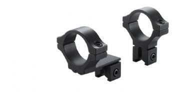 "BKL 274 Rimfire and Airgun Dovetail 3/8""-11mm base, Rifle Scope 1""/25mm tube mount rings with OFFSET - Medium/High profile"